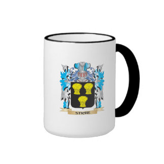 Stiche Coat of Arms - Family Crest Ringer Coffee Mug