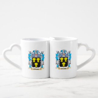 Stiche Coat of Arms - Family Crest Couples' Coffee Mug Set