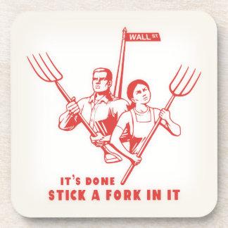 Stick A Fork In It Coaster