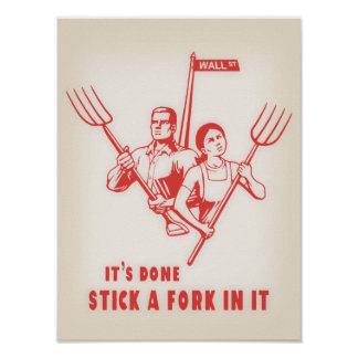 Stick A Fork In It Poster