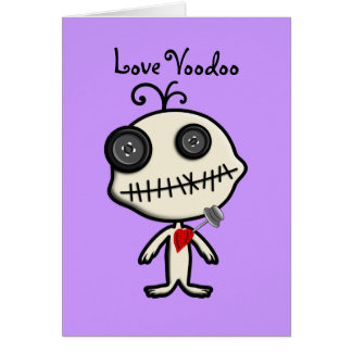 Stick a Pin in Valentine's Day and be Done With It Greeting Card