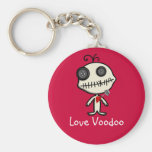 Stick a Pin in Valentine's Day and be Done With It Keychain