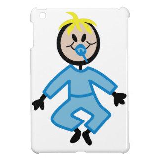 Stick Baby Boy iPad Mini Cover