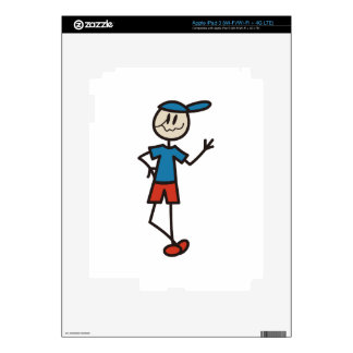 Stick Boy Decal For iPad 3