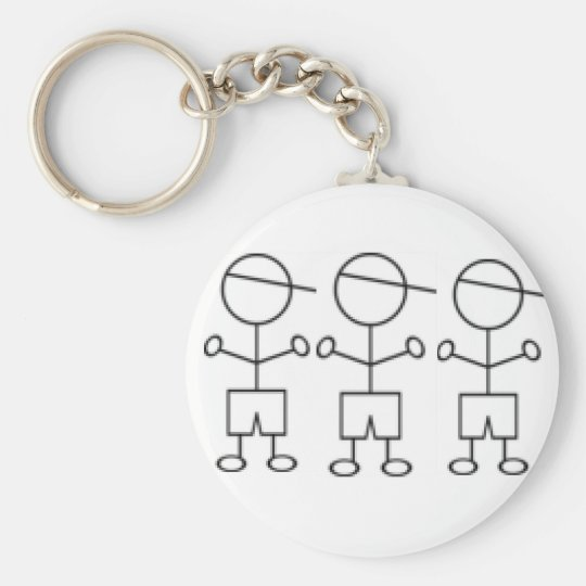 stick boy keychain triplet boys