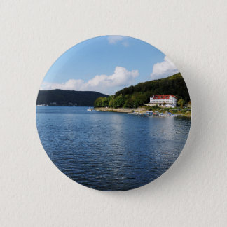 Stick button on Edersee in North Hesse