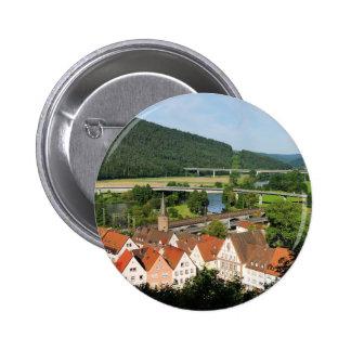 Stick button on Maintal with Gemünden A. Main