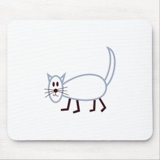 Stick Cat Mouse Pad