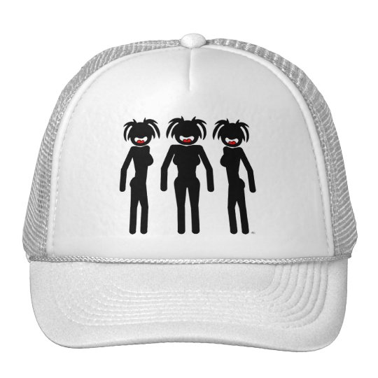 Stick Chick Shirts and Apparel Trucker Hat