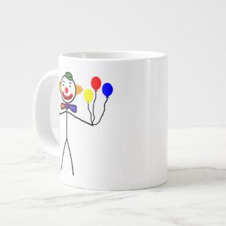 Stick Clown Large Coffee Mug