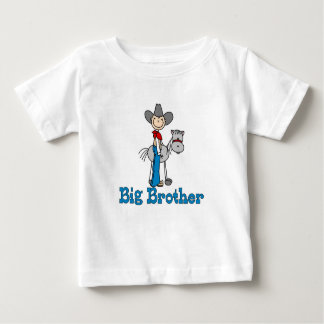 Stick Cowboy Big Brother Baby T-Shirt