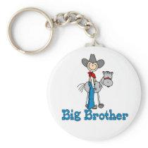 Stick Cowboy Big Brother Keychain