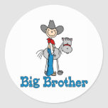Stick Cowboy Big Brother Stickers