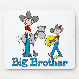 Stick Cowboys Big Brother Mouse Pad