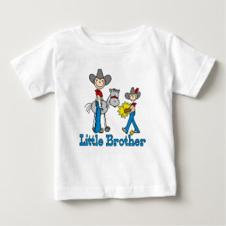 Stick Cowboys Little Brother Baby T-Shirt