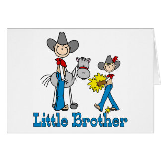 Stick Cowboys Little Brother Card