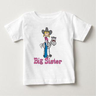 Stick Cowgirl Big Sister Infant T-shirt