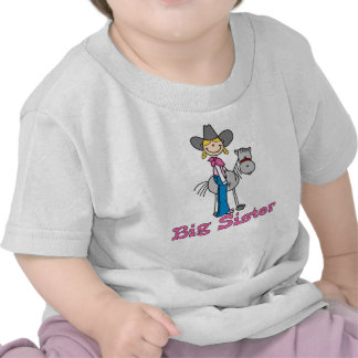 Stick Cowgirl Big Sister Tees