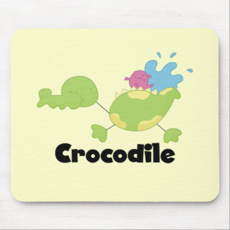 Stick Crocodile Tshirts and Gifts Mouse Pad