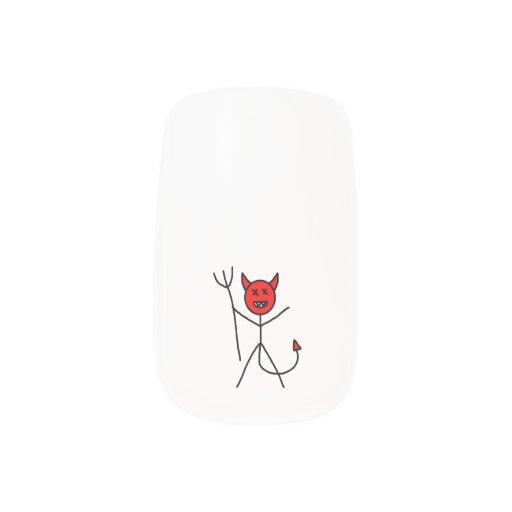 Stick Devil Minx ® Nail Wraps