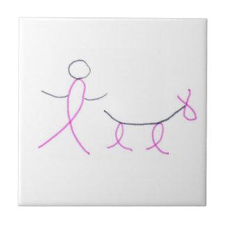 Stick Dog and Owner Tile