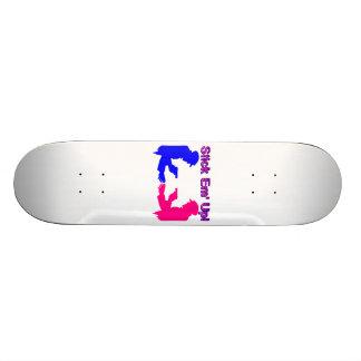 Stick Em Up Gangsters Custom Skateboard
