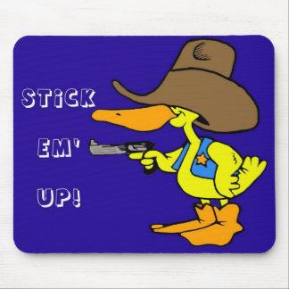 Stick Em' Up! Mouse Pad