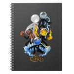 Stick Empires - Elemental Empire Spiral Notebooks