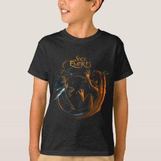 Stick Empires - Shadowrath vs. Crawler T-Shirt