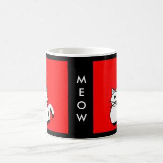Stick Family Cat Coffee Mug