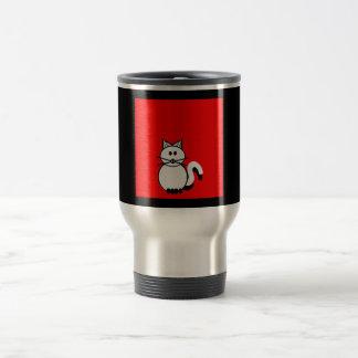 Stick Family Cat Travel Mug