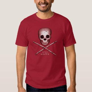 Stick Fighter Maroon T Shirt