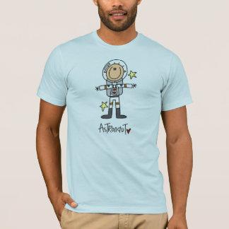 Stick Figure Astronaut T-Shirt