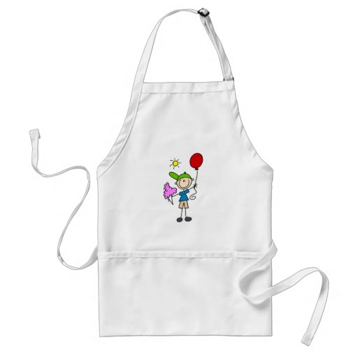 Stick Figure At the Fair Tshirts and Gifts Apron