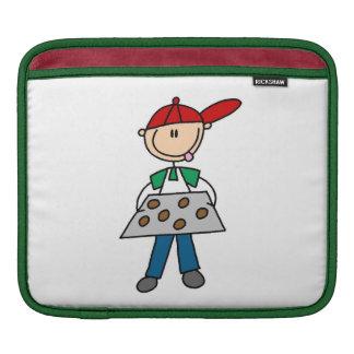Stick Figure Baking Cookies Sleeve For iPads
