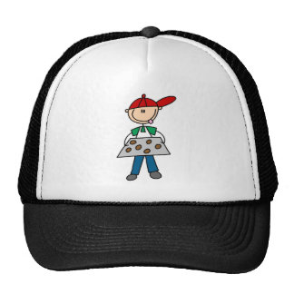 Stick Figure Baking Cookies Tshirts and Gifts Trucker Hats
