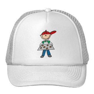 Stick Figure Baking Cookies Tshirts and Gifts Mesh Hat