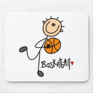 Stick Figure Basketball Mousepad
