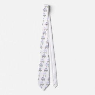 Stick figure best friends neck tie