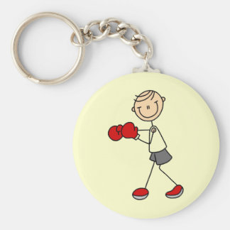Stick Figure Boxing Tshirts and Gifts Key Chains