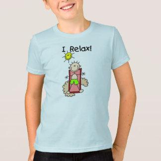 Stick Figure Boy I Relax T-shirt