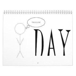 Stick Figure Calendar