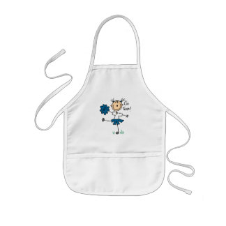 Stick Figure Cheerleader Go Team TShirts and Gifts Aprons