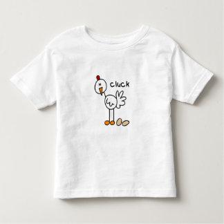 Stick Figure Chicken Toddler T-shirt