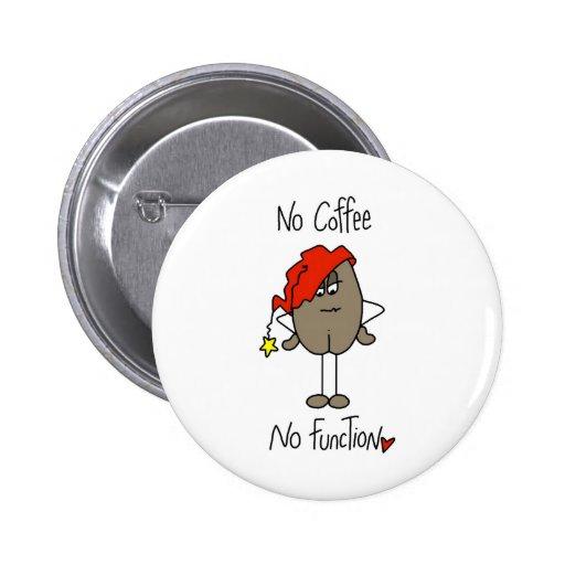 Stick Figure Coffee Bean Button