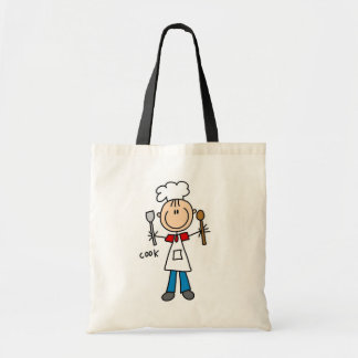 Stick Figure Cook T-shirts and Gifts Bag