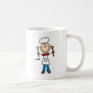 Stick Figure Cook T-shirts and Gifts Classic White Coffee Mug