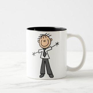 Stick Figure Dad Mug