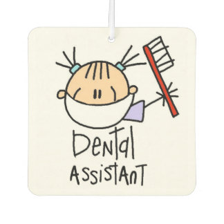 Stick Figure Dental Assistant Air Freshner Air Freshener