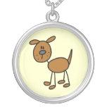 Stick Figure Dog T-shirts and Gifts Jewelry